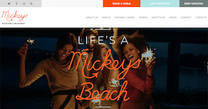 mickeys michel caines
